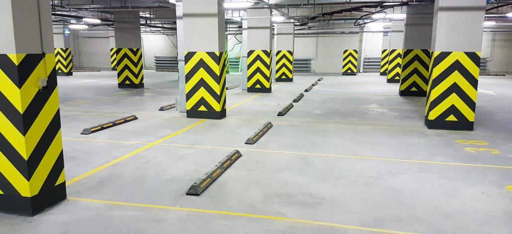 заливка пола на паркинг