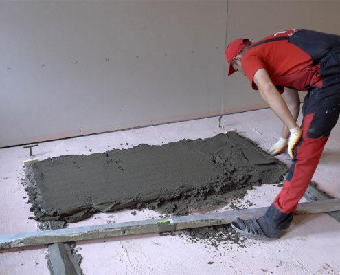 бетонные полы от ао град
