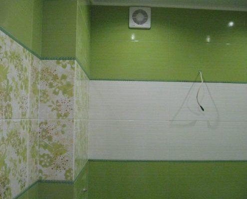 отделка ванной плиткой