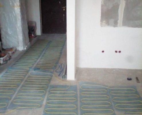 электрический теплый пол под ключ